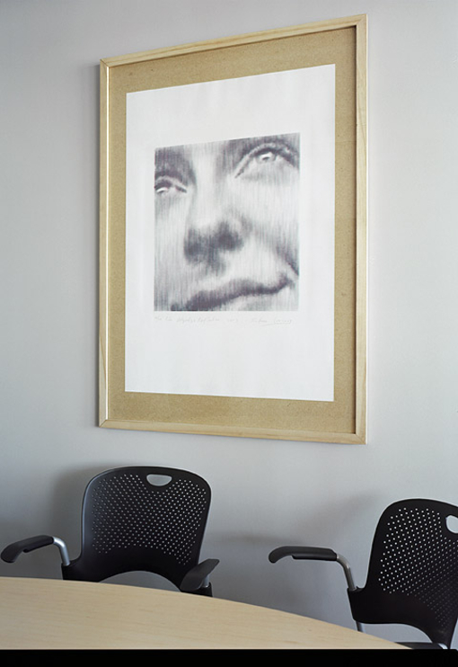 Ivanovs lithograph in Swedbank